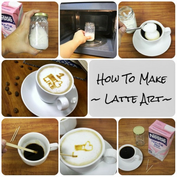 DIY Latte Art