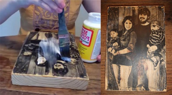 How To Transfer Photo To Wood