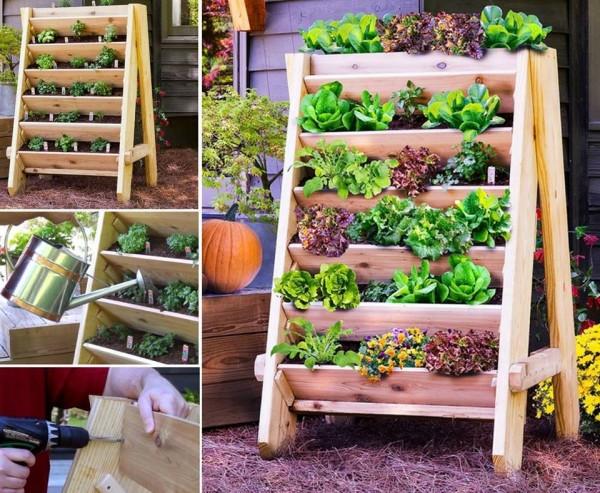 Vertical garden planters diy tag for Vertical garden containers