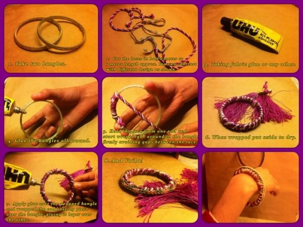 DIY Bangle Bracelets