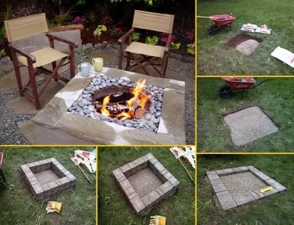 DIY Fire Pit Tutorial