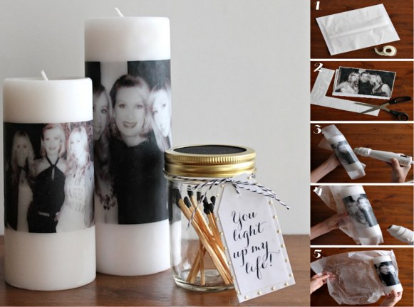 DIY Photo Candle Tutorial 2