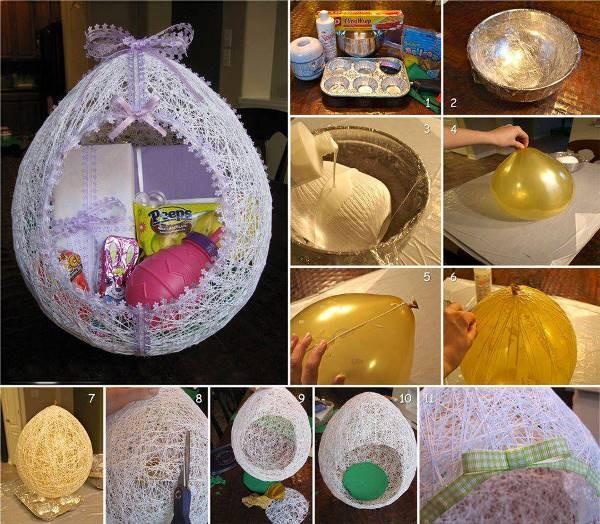 Easter Bunny Basket Tutorial 2