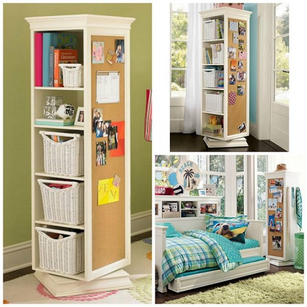 Rotating Storage Units DIY Plan 2