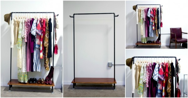 Clothes Rack DIY Tutorial