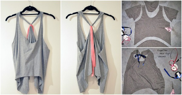 How To Make T Shirts Into Tank Tops