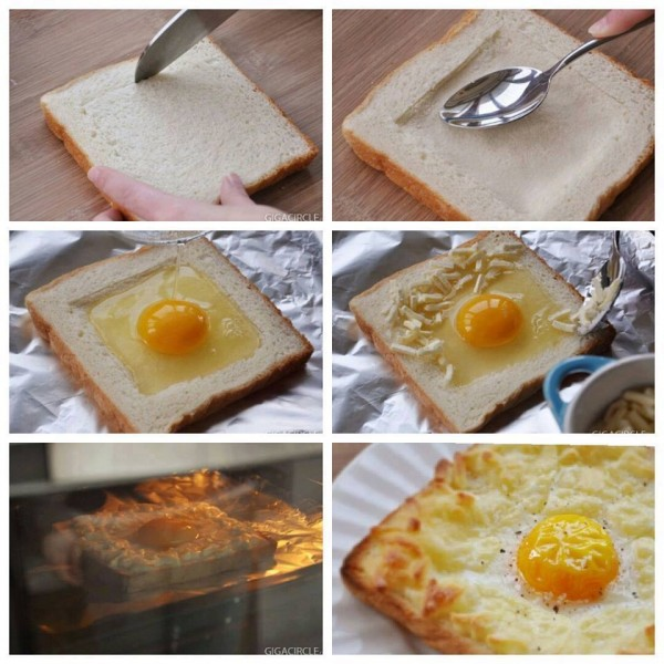 Egg Cheese Sandwich Breakfast Recipe 1