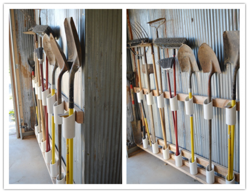How To Organize Garden Tools In Garage Or Storage Unit
